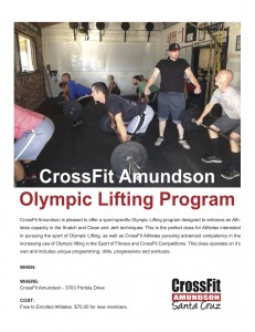 CrossFitOlympicLIfting