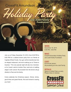 CrossFit Holiday Flyer