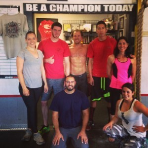 Wednesday Team WOD