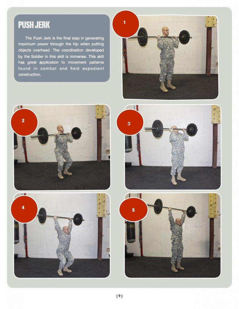 Jerk-ARMY OCS CrossFit