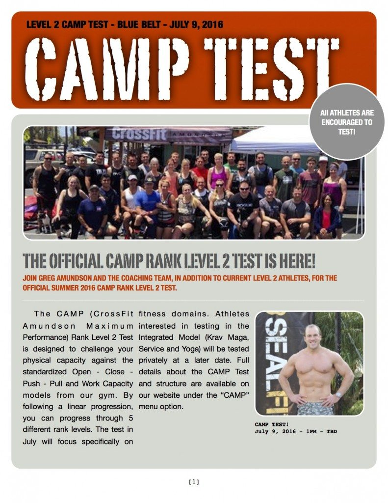 CAMP-Test
