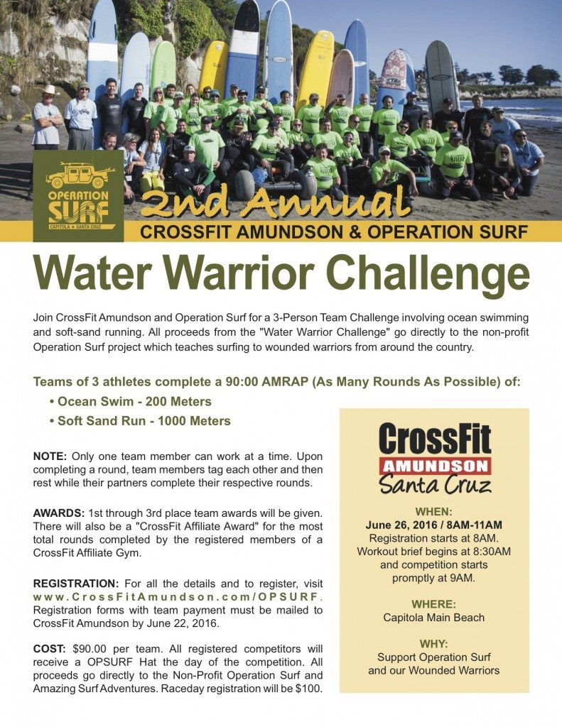 Water Warrior Challenge-2016