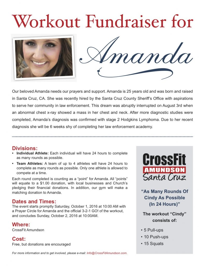 Amanda-Fundraiser